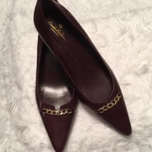 Brooks Brothers Maroon Pumps